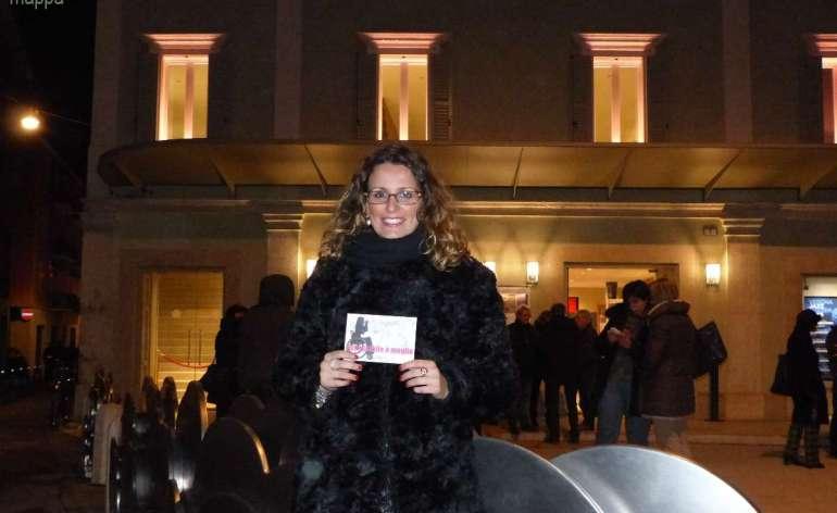 Virginia Vinco, giornalista all'emittente locale Telenuovo, testimone di accessibilità per dismappa