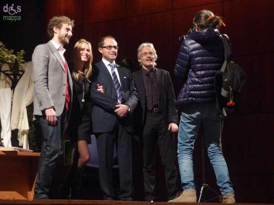 Alessandro D'Avenia, Sabrina Modenini, Rosario Russo e Andrea de Manicor all a Gran Guardia di Verona