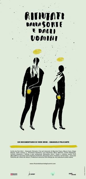 Rifiutati dalla sorte e dagli uomini - documentario 70' Il mercato delle Newslot ha modificato in un percorso senza ritorno l'approccio al gioco d'azzardo: dal Casinò al bar sotto casa. Le conseguenze non si sono fatte attendere, solo nell'ultimo anno i ricoverati in strutture di recupero sono migliaia. Tutti rientrano sotto una semplice sigla: Gap, sindrome da gioco d'azzardo patologico. Un fenomeno che non coinvolge soltanto i giocatori, ma tutte le relazioni sociali ad essi collegate: mogli, mariti, figli, parenti e amici. Un incubo, uno squallido reality che crea povertà e intacca profondamente le abitudini sociali. Le responsabilità sono molte. Dallo Stato che per incrementare le entrate ha legalizzato le Newslot e ne ha favorito la diffusione, ai proprietari dei bar e dei locali dedicati, che spesso fingono di non sapere e spingono i clienti verso il fallimento. Questo ingranaggio che di anno in anno sta distruggendo vite e attività diventa difficilissimo da fermare. Ora il gioco lo si trova a portata di mano sotto casa, al bar, in tabaccheria, in edicola, e a portata di click, dentro casa, grazie alla legalizzazione del gioco on-line. Le vincite sono immediate. La possibilità di perdere grosse somme di denaro in pochissimo tempo pure. Oltre alla modalità di gioco a cambiare è la tipologia del giocatore, l'azzardo si è diffuso in maniera orizzontale abbracciando nuove fasce di fruitori: dai giovanissimi (nonostante il divieto a 18 anni) agli anziani, dalle casalinghe ai padri di famiglia. Nessuno può interdire, né vietare l'accesso a chi vuole giocare alle Newslot. L'effetto di questa diffusione smodata di apparecchi, contemporanea alla nascita di una fitta rete di veri e propri mini-casinò in franchising, ha intaccato profondamente il tessuto socio-culturale italiano erodendo, giorno per giorno, patrimonio e rapporti umani. Che costi sociali ha una legalizzazione indiscriminata del gioco d'azzardo? Come e dove l'esigenza dello Stato di fare cassa si tramuta i