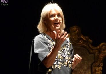 L'attrice Lella Costa al Teatro Romano di Verona - Foto dismappa