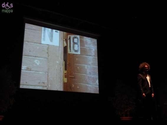 """Simone Cristicchi in """"No dimentichemo"""" reading teatrale sulla memoria delle foibe e dell'esodo istriano, fiumano e dalmata, tratto dallo spettacolo Magazzino 18"""