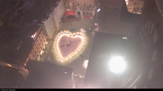 20150212 Cuore Piazza Dante Verona in love