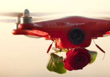 cupidrone rose san valentino verona love is in the air