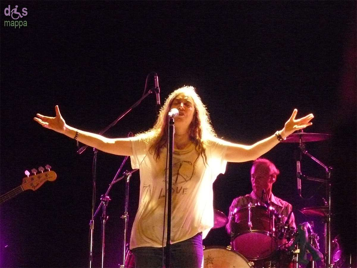 20070707 Patti Smith live Villafranca Verona 01