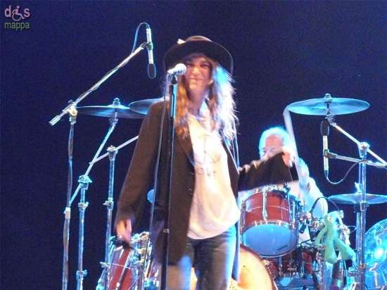20070707 Patti Smith live Villafranca Verona 02