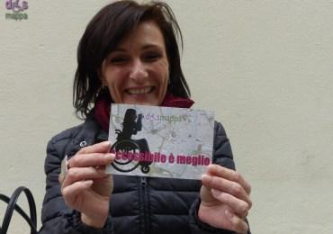 Barbara Carniti, figlia di Alda Merini, testimone di accessibilità per dismappa nella Giornata Mondiale della Poesia