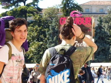 20150328 Selfie Glamour Piazza Bra Verona 2