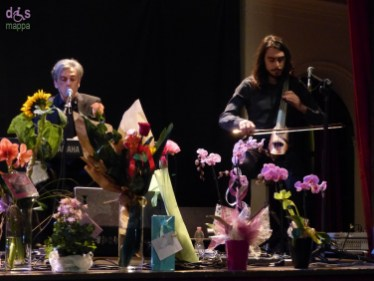 Andrea Chimenti al Piccolo Teatro di Giulietta di Verona con Francesco Chimenti e Davide Andreoni. 11 aprile 2015