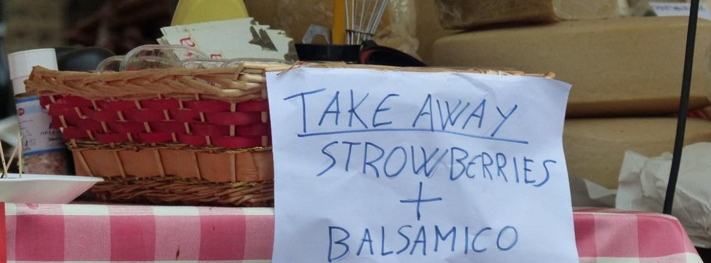 20150418 Piazze dei sapori Verona Strowberries balsamico
