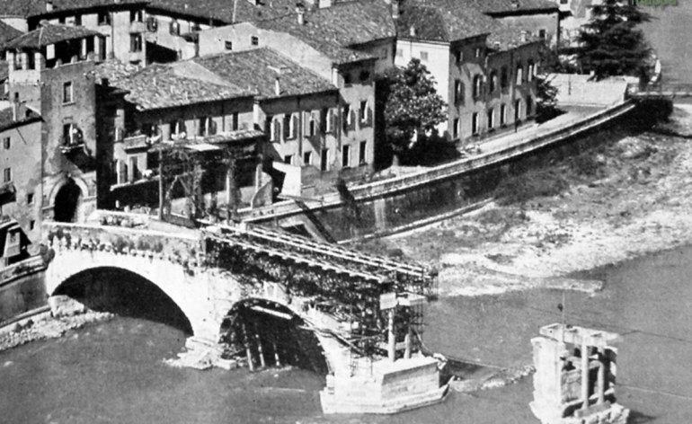 Ricostruzione Ponte Pietra Verona