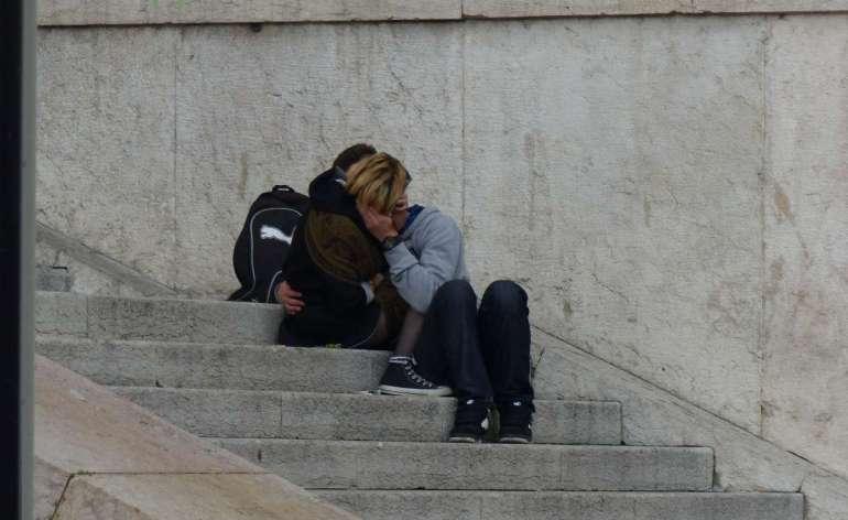 20150426 Innamorati bacio Palazzo Barbieri Verona dismappa 47