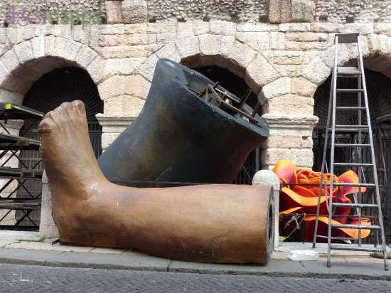 20150503 Gamba scenografia Arena di Verona