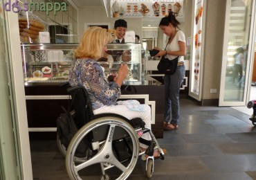 Gelateria Impero - Verona accessibile - Disabile carrozzina