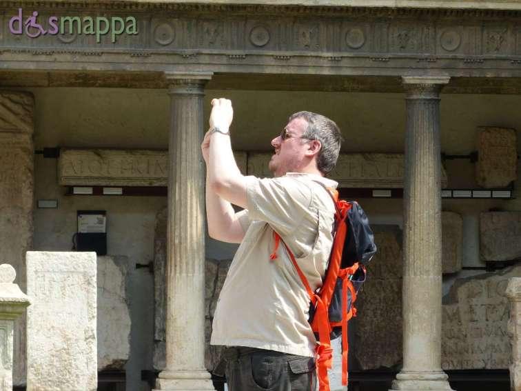 20150717 Museo Lapidario Maffeiano Verona accessibile dismappa 1065