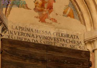 20150805 Chiesa Santi Siro Libera Teatro Romano Prima messa Verona dismappa