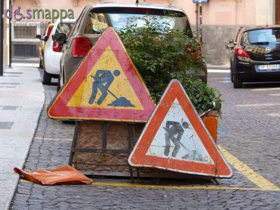 20150822 Segnale lavori in corso Verona dismappa