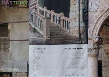 20150907 ArtVerona Liu Bolin Scala della Ragione dismappa 2