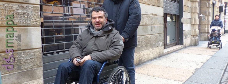 20151114 Turista disabile Corso Porta Borsari Verona dismappa