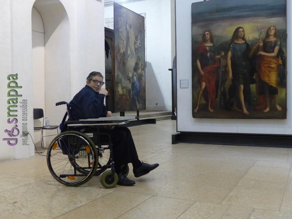 20160229 Accessibilità disabili Museo Affreschi Verona dismappa 669