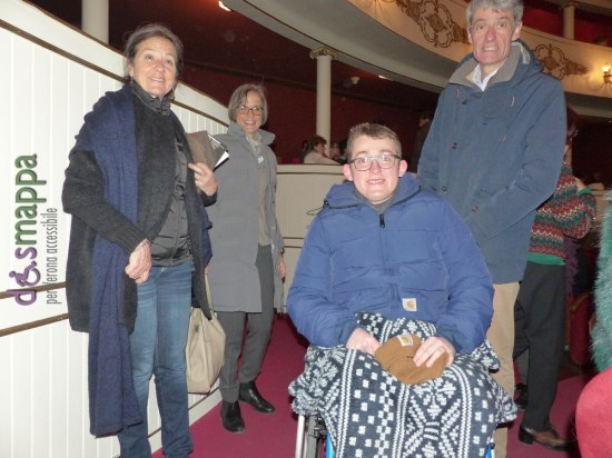 20160315 Disabile carrozzina Teatro Nuovo Verona dismappa