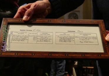 20160501 Certificato battesimo Romano Guardini Verona dismappa