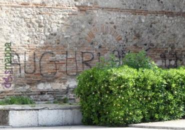 20160508 Auguri vandali Santo Stefano Verona dismappa