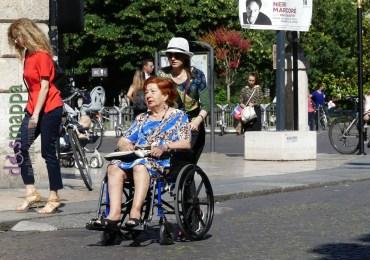 20160617 Signora carrozzina via Roma Verona dismappa 08