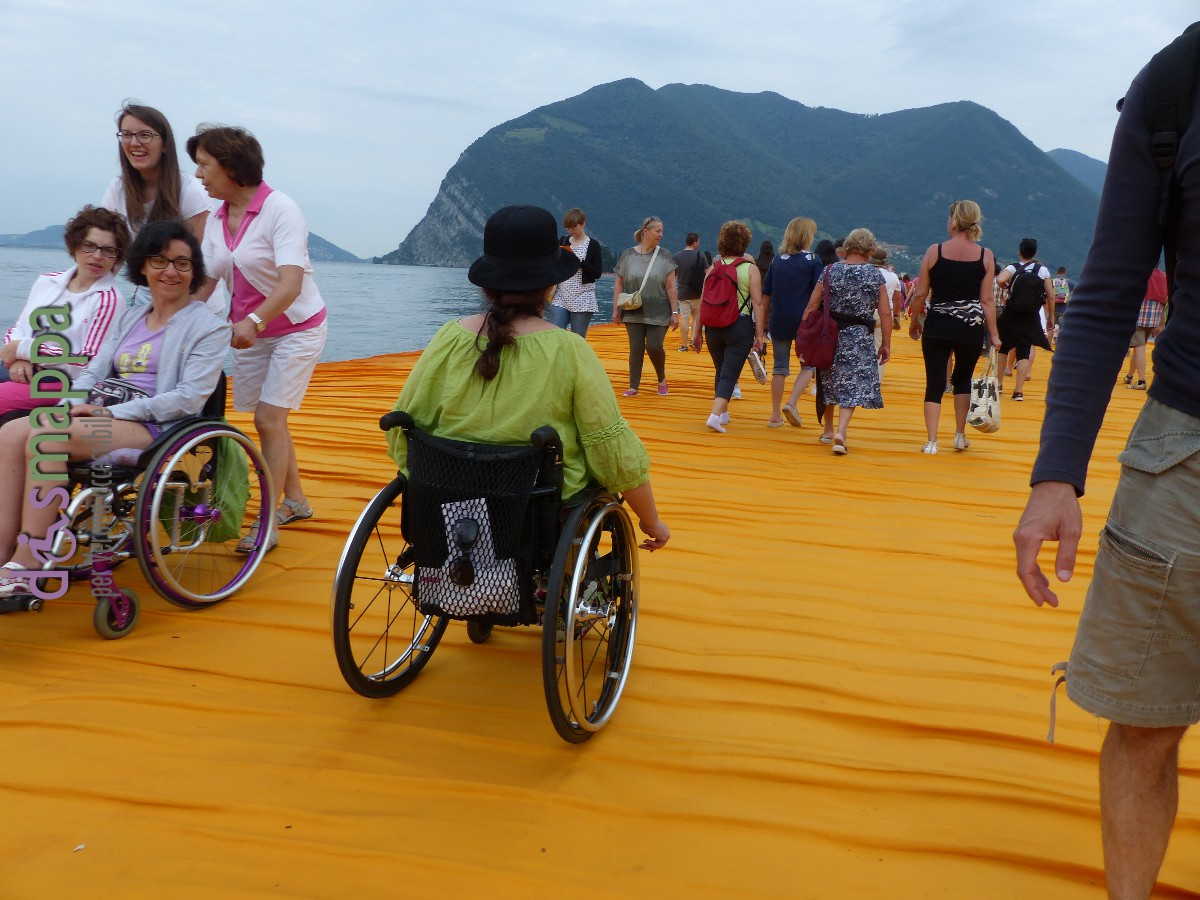 20160629 Christo Floating Piers Jeanne Claude Iseo disabili dismappa 1708