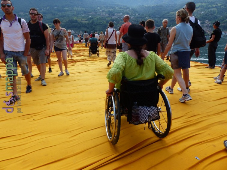 20160629 Christo Floating Piers Jeanne Claude Iseo disabili dismappa 1849