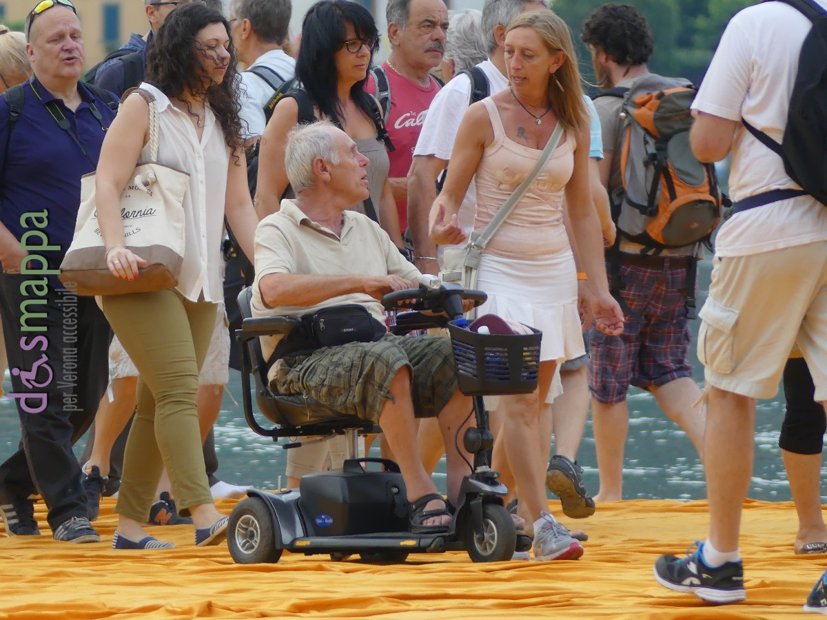 20160629 Christo Floating Piers Jeanne Claude Iseo disabili dismappa 528