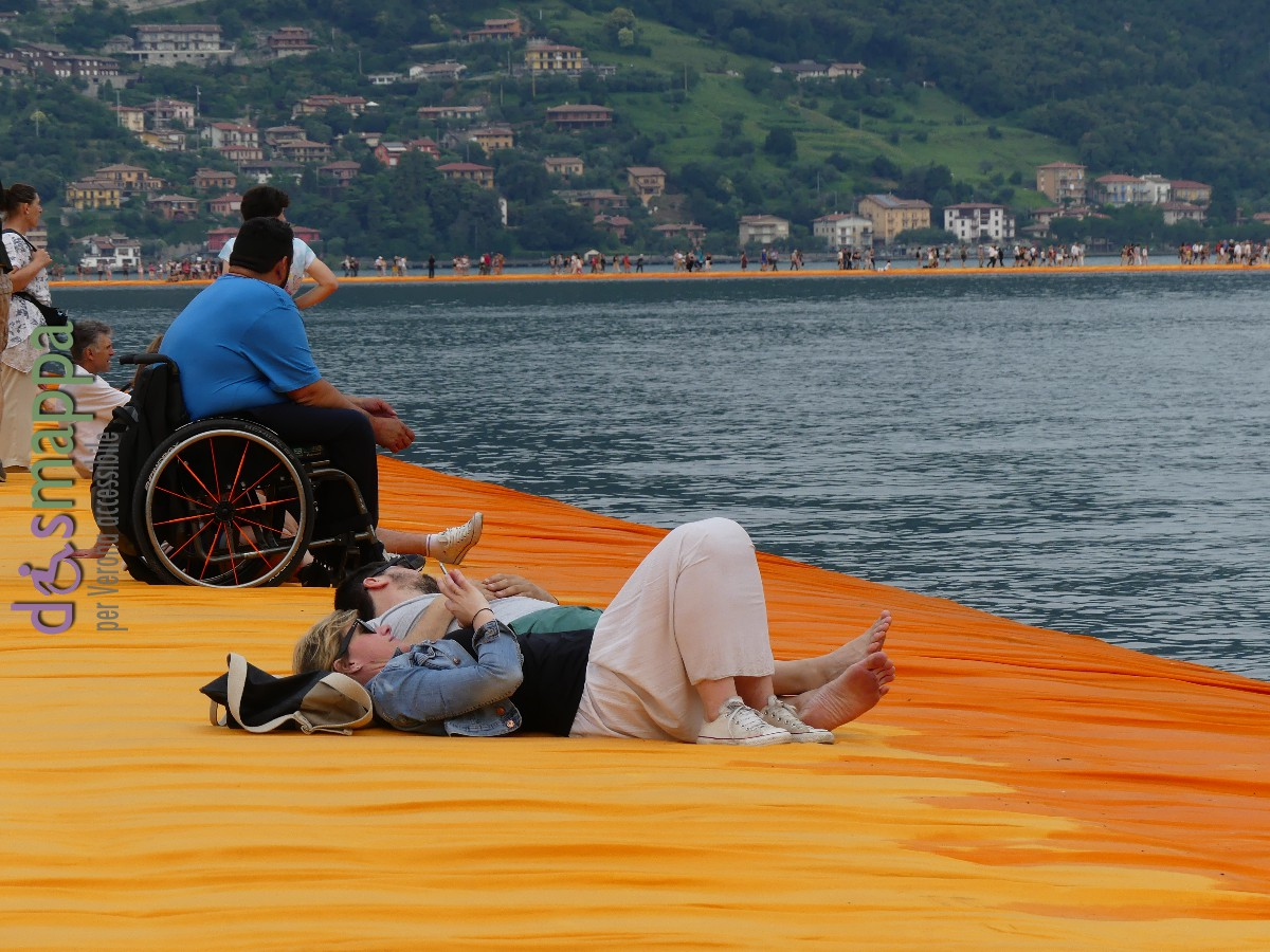 20160629 Christo Floating Piers Jeanne Claude Iseo disabili dismappa 616