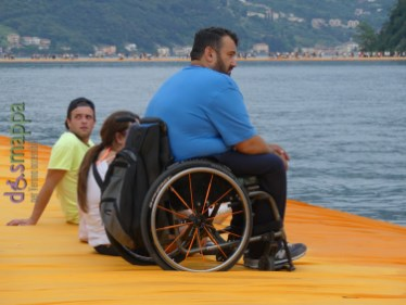 20160629 Christo Floating Piers Jeanne Claude Iseo disabili dismappa 619