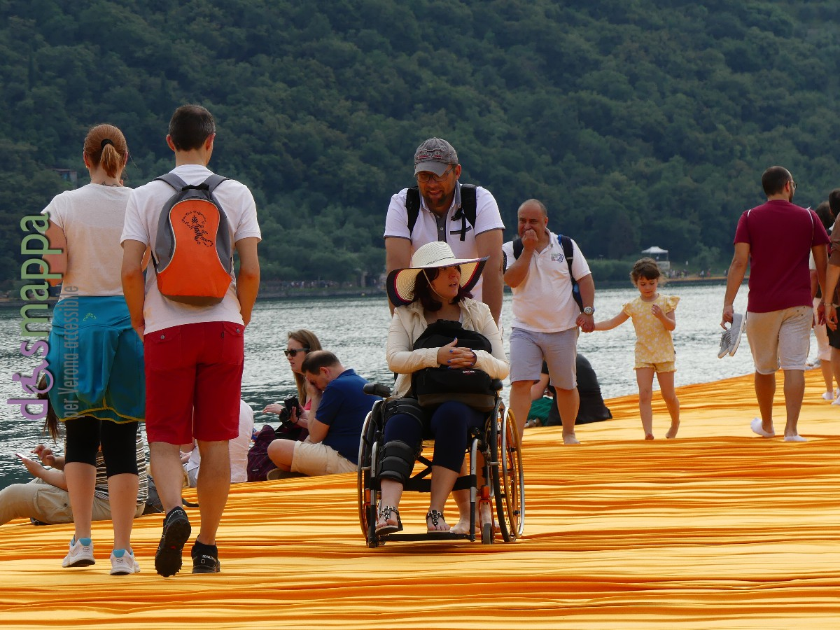 20160629 Christo Floating Piers Jeanne Claude Iseo disabili dismappa 749