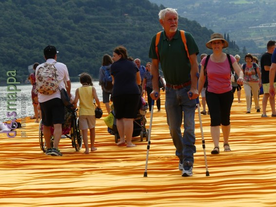 20160629 Christo Floating Piers Jeanne Claude Iseo disabili dismappa 776