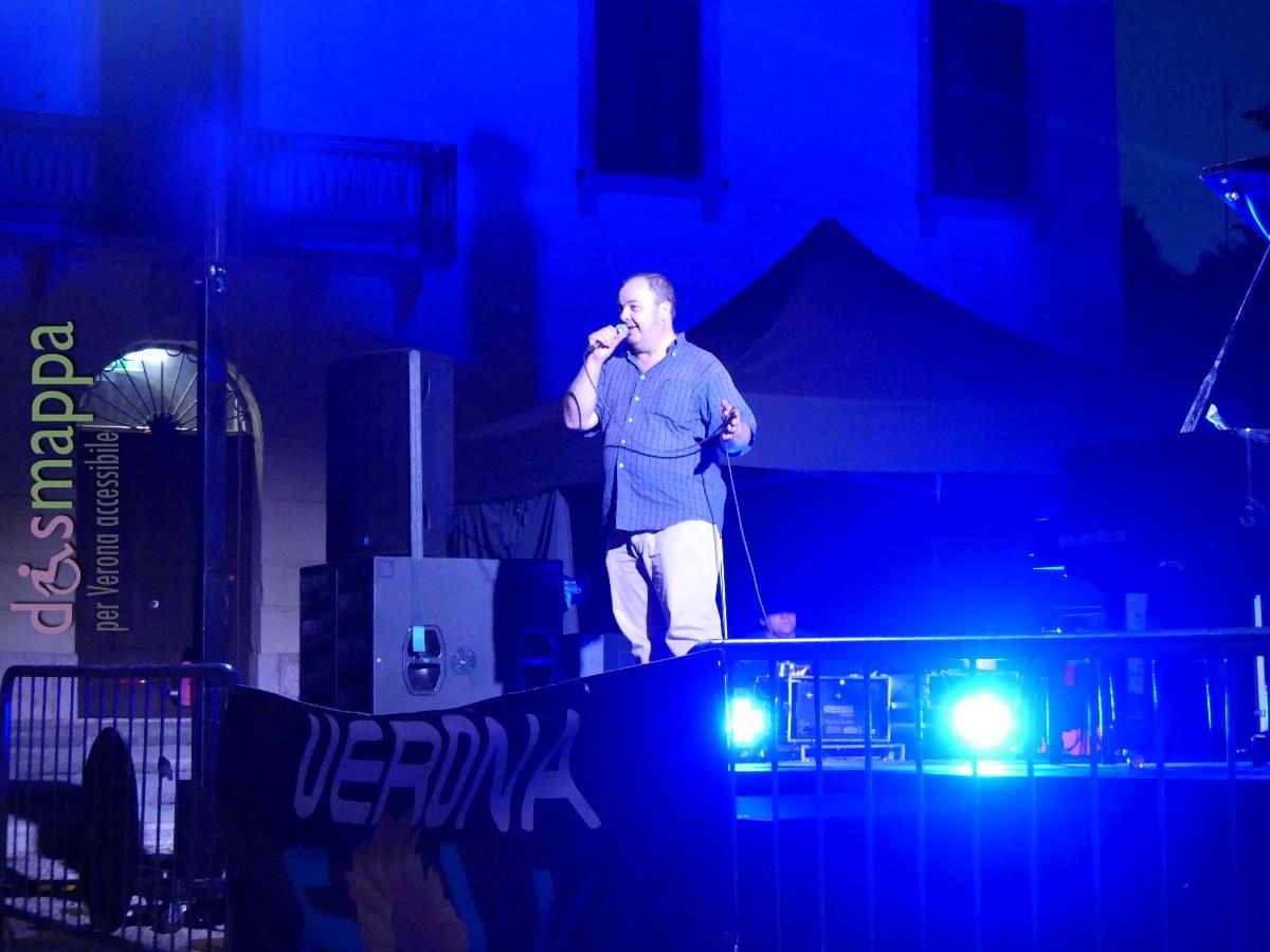 """Terzo live di Verona Folk 2016 a Villa Venier (Sommacampagna): Paolo Jannacci """"In concerto per Enzo"""", con Marco Ricci, Stefano Bagnoli e Daniele Moretto"""