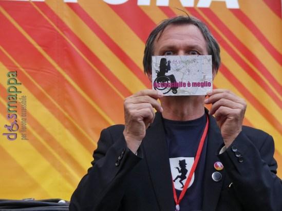 Il Presidente AGA, Giorgio Paolo Avigo, testimone per dismappa alla cerimonia di chiusura di Tocatì 2016