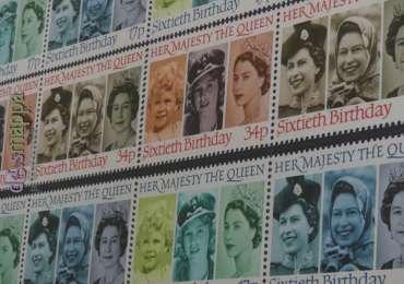 20170804 Stamps Queen Elisabeth II Verona dismappa 040