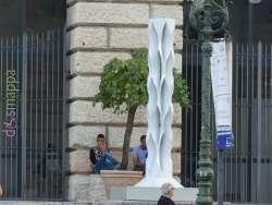 La scultura torso al Palazzo della Gran Guardia dii Verona - Marmomac and the City 2017