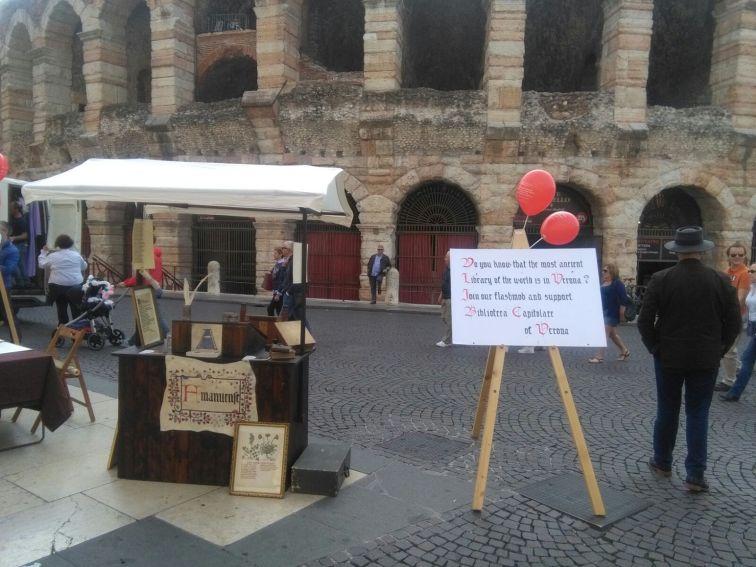 20170930 Flash Mob Biblioteca Capitolare Verona 04