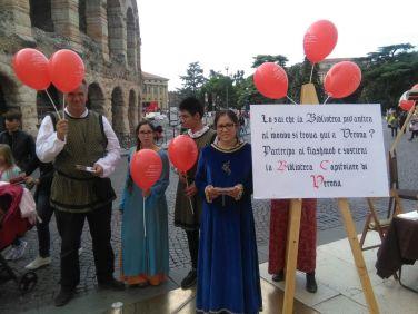 20170930 Flash Mob Biblioteca Capitolare Verona 05