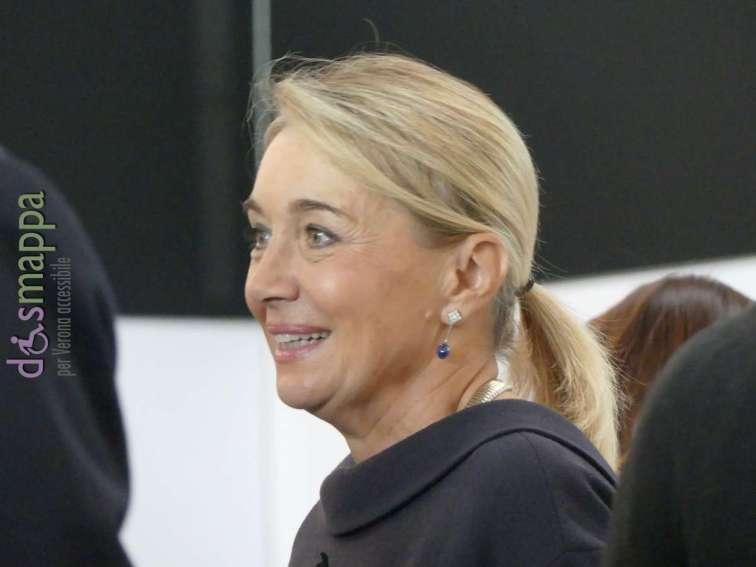 Francesca Briani, Assessore alla Cultura all'inaugurazione di ArtVerona