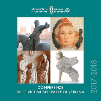 Martedì 17 ottobre alle ore 17.30, si tiene il primo incontro del ciclo di conferenze promosse dalla Direzione Musei d'Arte Monumenti del Comune di Verona e dall'Università degli Studi di Verona, Dipartimento Cultura e Società. L'iniziativa si avvale del supporto degli Amici dei Civici Musei d'Arte di Verona. Il ciclo dell'anno 2017 - 2018 si apre con il ricordo di Licisco Magagnato, già direttore dei Musei Civici di Verona, nella conferenza di Paola Marini; seguono Marta Nezzo, che accompagna alla scoperta di alcuni aspetti poco conosciuti dell'arte africana antica, e Giovanna Patrizia Tabone, la quale illustra gli interventi di restauro effettuati a Pompei nell'ambito del progetto di riqualificazione dell'area archeologica. Come di consueto, sono previsti gli interventi dei curatori di alcune esposizioni di prossima inaugurazione (Bernard Aikema, Elena Casotto), mentre Denis Ton spiega l'allestimento museale di Palazzo Fulcis a Belluno. Anna Lina Morelli affronta il ruolo di alcune figure femminili della Roma imperiale, utilizzando molteplici fonti tra le quali quelle numismatiche. Il cinquecentenario della nascita di Jacopo Tintoretto è occasione di approfondirne la figura con Sergio Marinelli. Infine Andrea de Marchi e Alessandro Delpriori portano la testimonianza del recupero del patrimonio culturale delle Marche e dell'Umbria danneggiati dal terremoto.