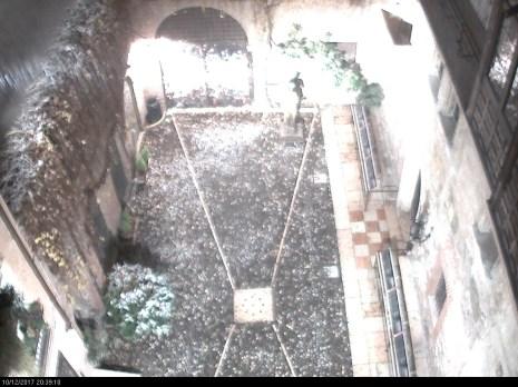 20171210 Casa di Giulietta Verona neve webcam