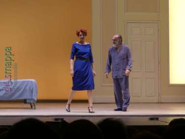 20171212 Alessandro Haber Lucrezia Lante Della Rovere teatro Verona ph dismappa 469