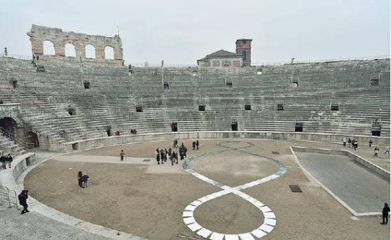20170210 Michelangelo Pisoletto Terzo Paradiso Arena Verona 2