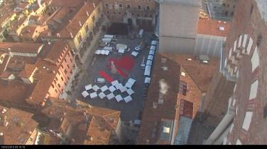 20180213 Piazza Dante cuore San Valentino Verona in love webcam 02