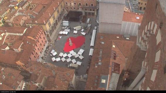 20180213 Piazza Dante cuore San Valentino Verona in love webcam 05