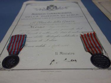 Diplomi e medaglie per orfani e vedove di guerra