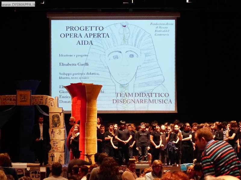 L'Aida dei piccoli nel linguaggio dei segni