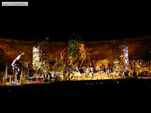 Il Trovatore di Giuseppe Verdi - Arena di Verona - Festival del centenario439